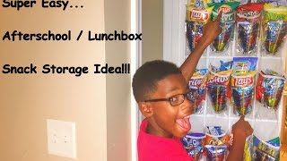 Lunch Box / After School Snack Storage!   Snack Packs   Sprinkle of Mom #1