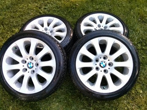 BMW Alloy rims and Winter Tires - For Sale