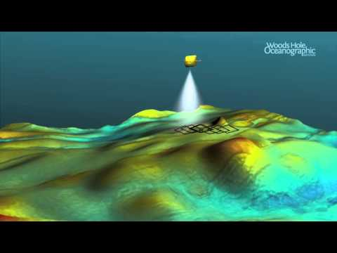 SENTRY AUV collecting Multibeam Sonar