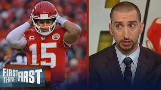 Nick and Cris on Mahomes, Chiefs win over Colts, Rams defeat Cowboys | NFL | FIRST THINGS FIRST