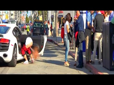 Drive By Explosive Diarrhea  Prank