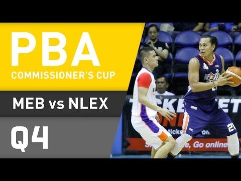 MERALCO VS. NLEX - Q4 | Commissioners Cup 2016