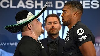 Anthony Joshua and Andy Ruiz Jr hold final press conference before rematch