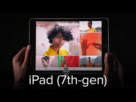 iPad (7th-gen) announcement: