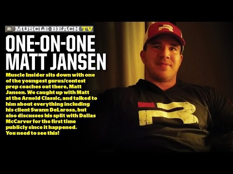 One on One with Matt Jansen at the 2017 Arnold Classic