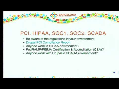 DrupalCon Barcelona 2015: Drupal and Security: what you need to know