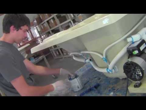 Whirlpool bath plumbing tutorial