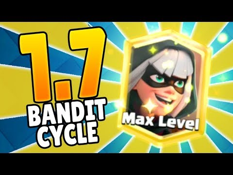 [BANDIT LIKE A PRO] FASTEST BANDIT CYCLE DECK EVER ONLY 1.7 ELIXIR | Clash Royale