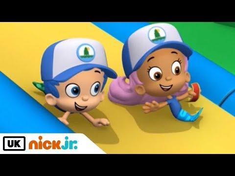 Bubble Guppies | The Summer Camp Games! | Nick Jr. UK
