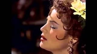 Sara Montiel. Gitana (Falsa Moneda) de la película Carmen la de Ronda
