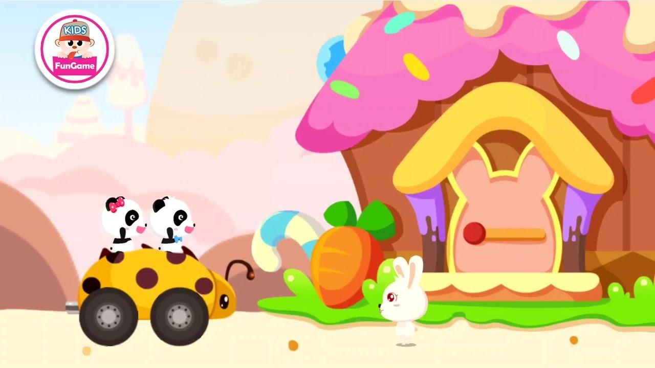Gấu Trúc Kiki và Miu miu - Cuộc Phiêu Lưu Đến Ngôi Làng Bánh Kẹo