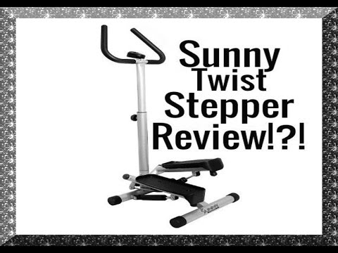 Sunny Health And Fitness Twist Stepper Review 55 Youtube