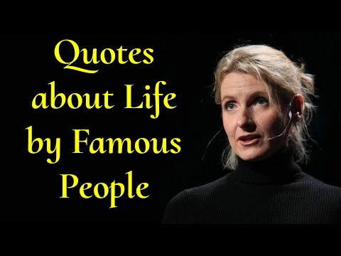 Famous Quotes About LIFE By Famous People!!!! | Inspirational Quotes | Positive Zone - Part 1