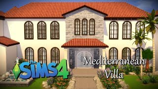 MEDITERRANEAN VILLA | The Sims 4 | Stop Motion