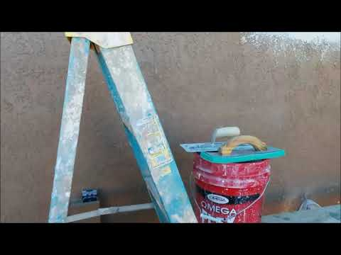 Stucco Finish Coat Tip For Matching A Lace Texture
