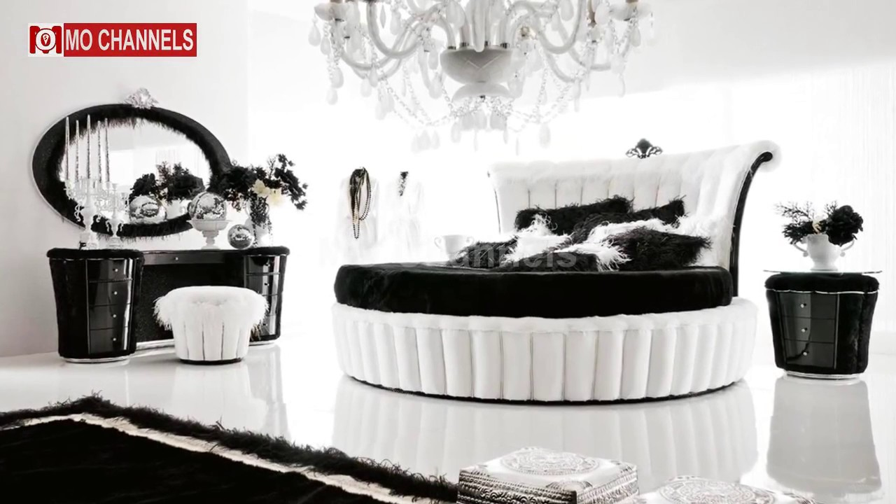 best inspiration black white bedroom decorating ideas - youtube