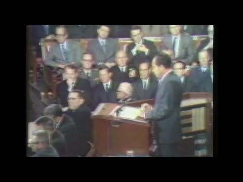 President Nixon's 1970 State of the Union
