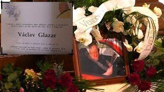 Poslední rozloučení s panem Václavem Glazarem