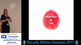 BSides Delaware 2017 Claire Tills Advanced Soft Skills: Using Efficacy to Get Sh*t Done