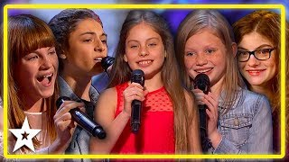 TOP 5 Kid Singer Auditions on America