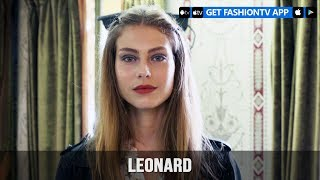 Paris Fashion Week Spring/Summer 2018 - Leonard Make Up | FashionTV