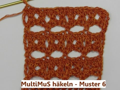 MultiMuS häkeln - Muster 6 - mit Veronika Hug - YouTube