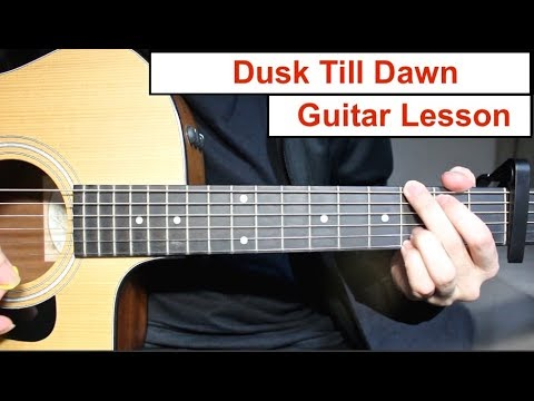 Dusk Till Dawn - Zayn ft Sia | Guitar Lesson (Tutorial) How to play Chords/Lead Guitar