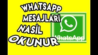 2020 - Whatsapp'ta Silinen Mesajları Okumanın Yolu.