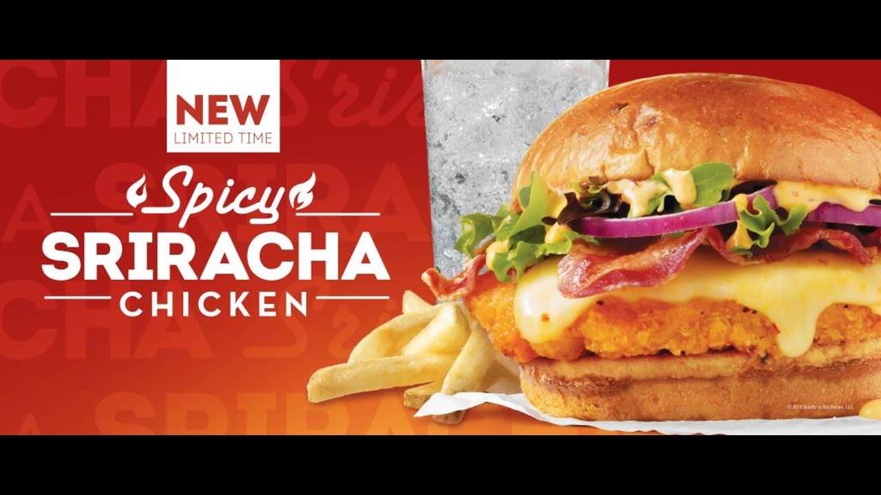 Wendy's Spicy Sriracha Chicken Sandwich