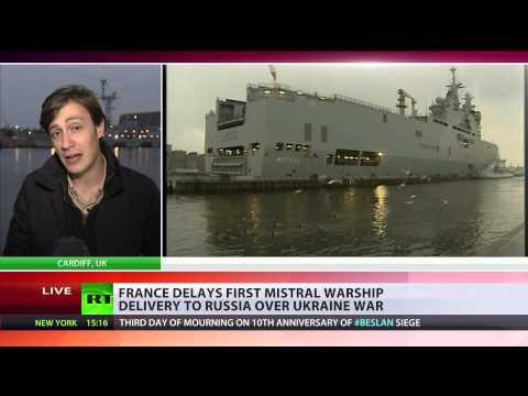 France cannot deliver Mistral warship to Russia over Ukraine