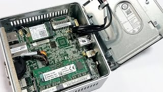 How to assemble the Braswell NUC (NUC5CPYH or NUC5PPYH)