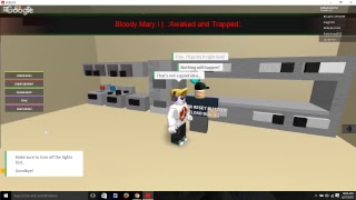 KKG Film: Roblox: Bloody mary Gameplay