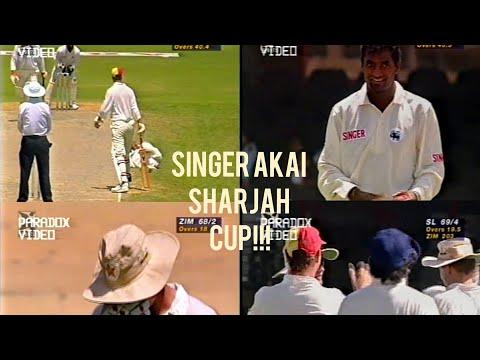 Zimbabwe *OUTSTANDING Victory* Against Sri Lanka   SINGER AKAI SHARJAH CUP   1997