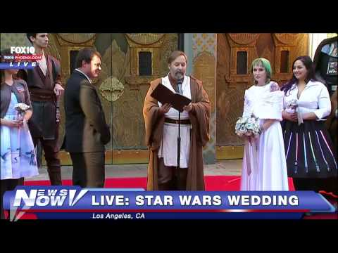 FNN: Hollywood Star Wars Wedding Live Before Star Wars: Episode VII