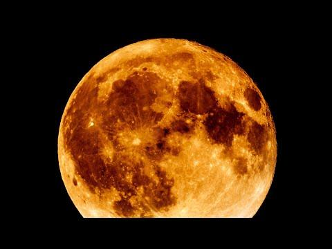 Super Moon HD Video