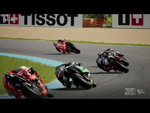 MotoGP21 - Game Replay - Jack Miller - Curcuit Jerez Spain 02 May 2021 |