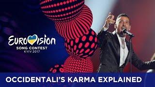 Occidentali's Karma explained by Francesco Gabbani