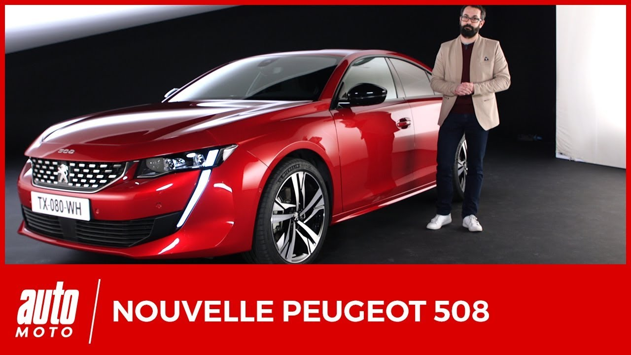 2018 nouvelle peugeot 508 le design et l 39 int rieur en d tails avis moteurs habitabilit. Black Bedroom Furniture Sets. Home Design Ideas