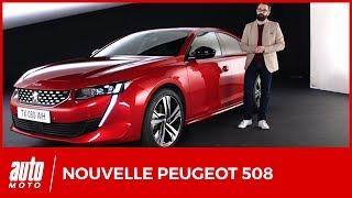 2018 Nouvelle Peugeot 508 : le design et l'intérieur en détails (avis, moteurs, habitabilité)