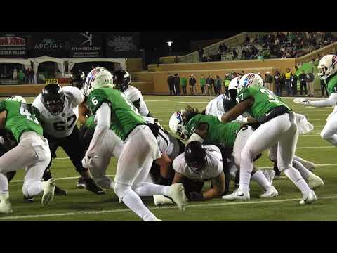 Army Football: Darnell Woolfolk Second Touchdown vs. North Texas 11-18-17