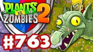 Arena with Zombot Dark Dragon! - Plants vs. Zombies 2 - Gameplay Walkthrough Part 763