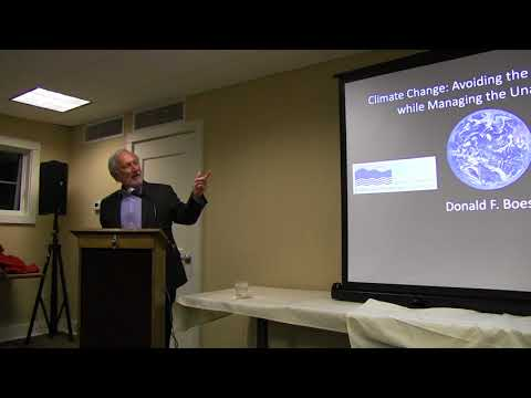 Dr Boesch Climate Change Lecture 1 31 2018