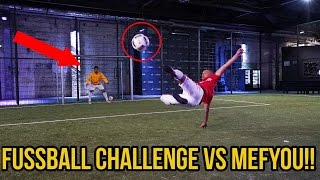 Extreme fussball challenge vs mefyou + bestrafung!!