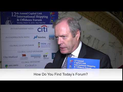 2018 12th Annual International Shipping & Offshore Forum - Michael Parker Interview