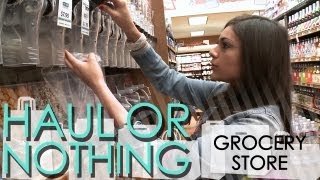 Haul or Nothing: Grocery Store Shopping [Part 1/2]