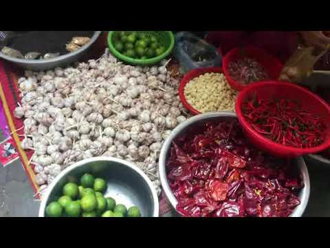 Life In Cambodian Local Market Food - Amazing Country Food Selling In Phnom Penh Market