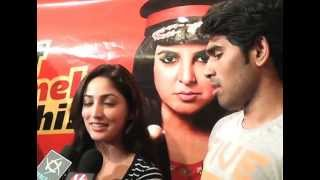 Allu Sirish and Yaami Gautam at Prasads IMAX - Video Coverage