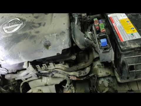 Как снять генератор ниссан мурано z50 видео