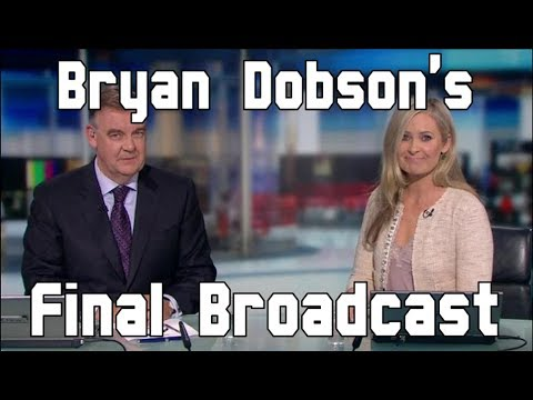 RTÉ News: Six One   Brian Dobson's Final Broadcast   25 October 2017