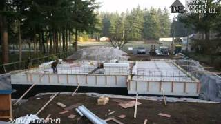 ICF House Construction Time Lapse